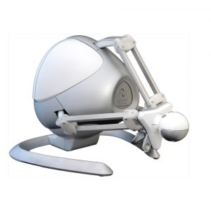 alcon haptic device: very robust, reliable with good sensation of touch.