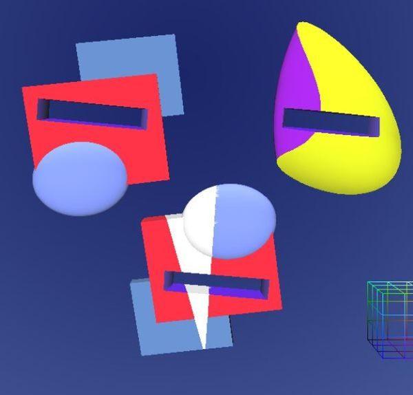 Anarkik3D Designed models: Screen Capture of different ring tops for 3D printing