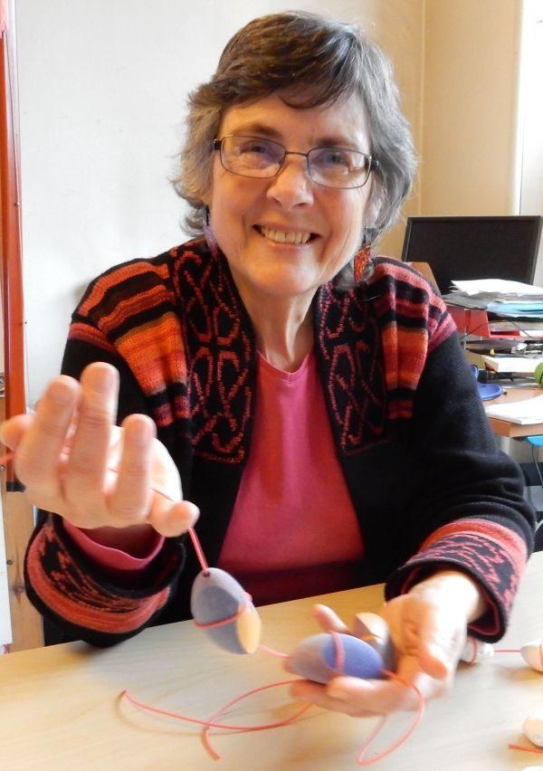Ann Marie Shillito : CEO of Anarkik3D, designer maker jeweller and teacher