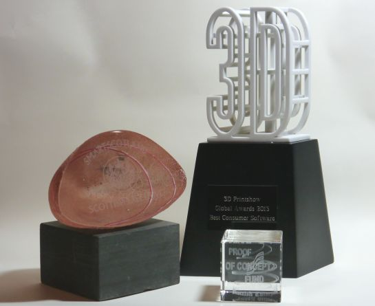 Awards for Anarkik3D software