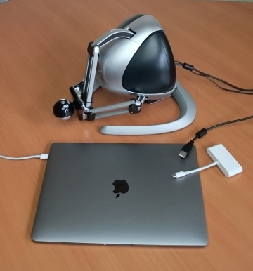 Anarkik3D Design Haptic 3D modelling for MACs with USB adaptor