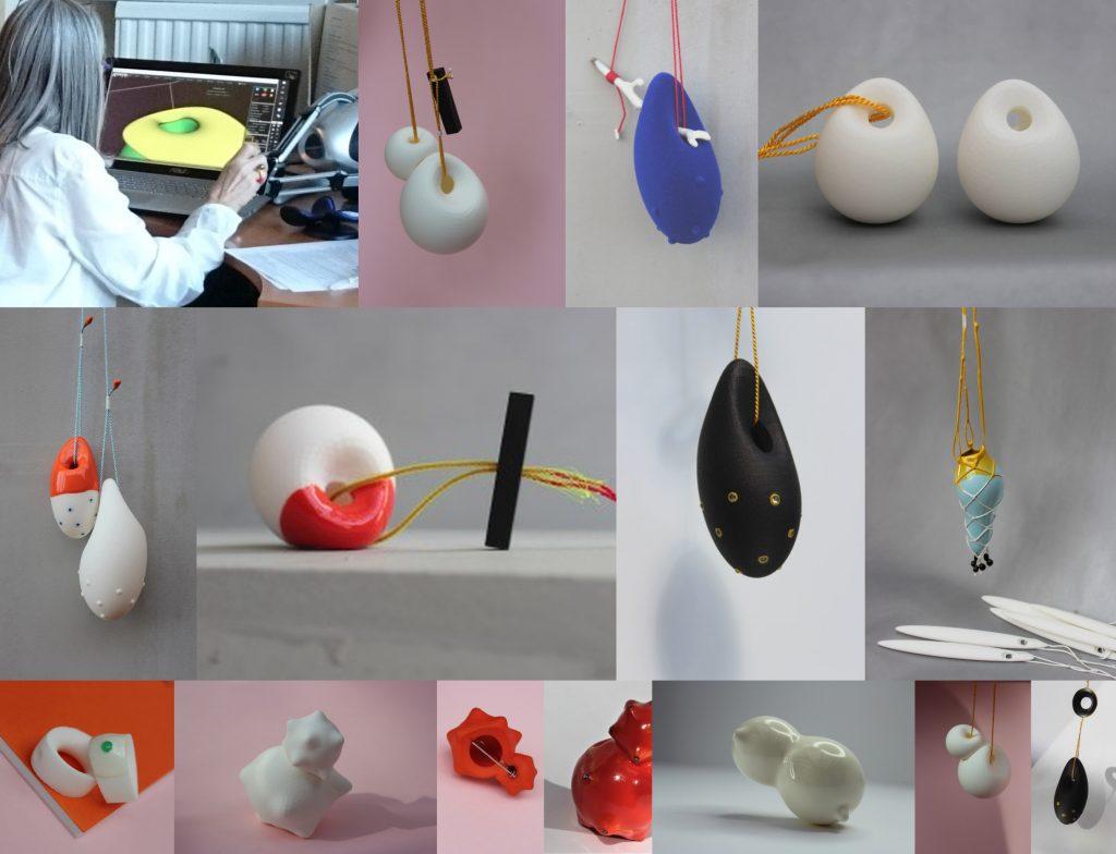 Celebrating our Anarkik Creators: the work of Anne Boylan: her designs 3D printed.