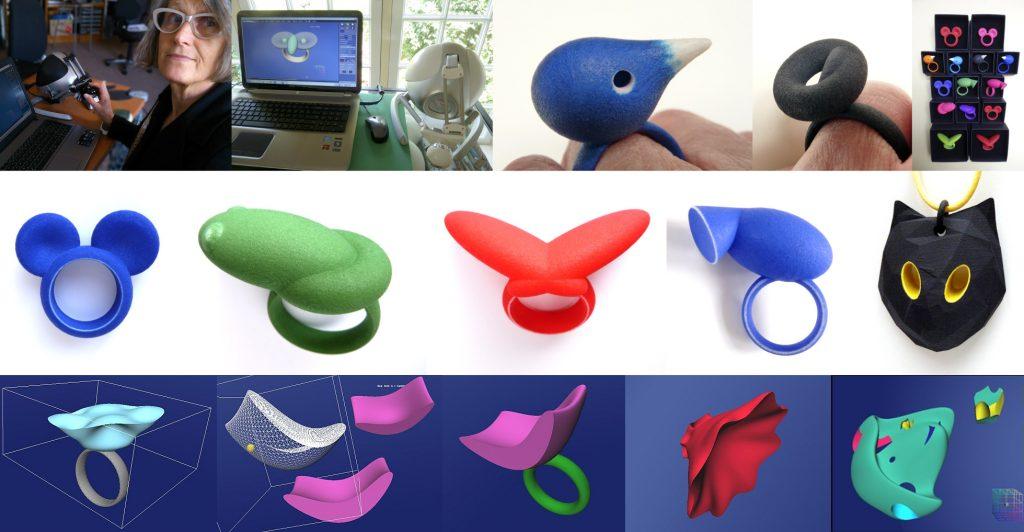 Celebrating our Anarkik Creators. Birgit Laken: her designs and 3D print jewellery