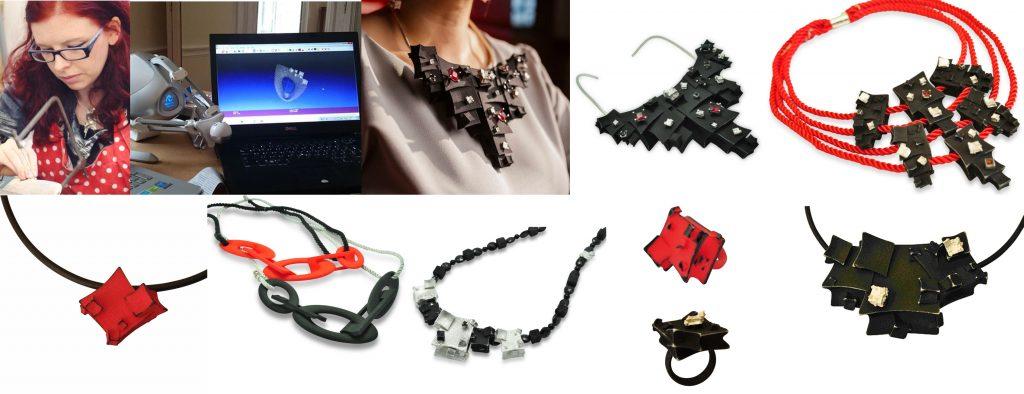 Celebrating our Anarkik Creators. Genna Delaney: her designs and 3D print jewellery