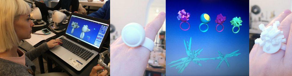 Celebrating our Anarkik Creators. Izabella Petrut: her designs and 3D print jewellery from Vienna Workshop.