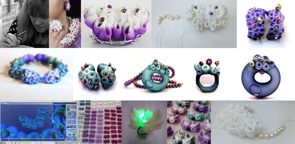 Celebrating our Anarkik Creators. Elizabeth Armour: her designs, commission and 3D print jewellery