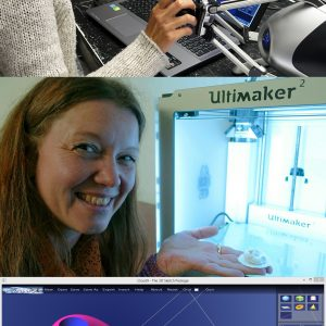 Course: Creating, Prototyping fast - 3D modelling for 3D printing
