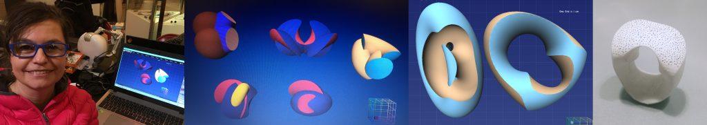 Celebrating our Anarkik Creators. Ursula Guttmann: her designs and 3D print jewellery
