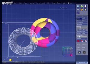 VideoTutorials & worksheets for learning Anarkik3DDesign 3D modelling programme in own space and at own pace