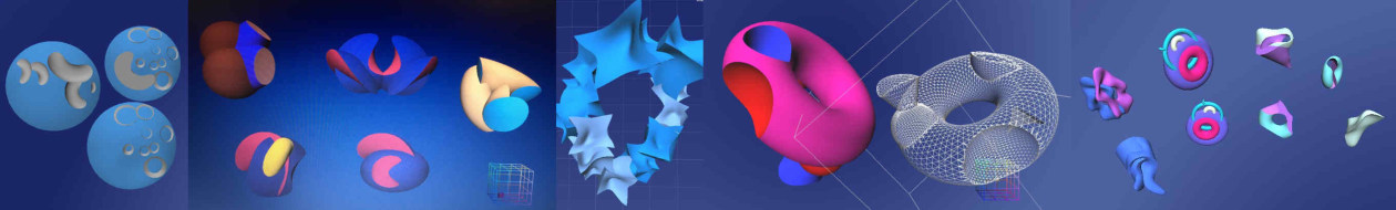 Re Anarkik3D Design Masterclass: Digital models created using Anarkik3D Design at short courses of just 4 hrs to 7 hrs long.