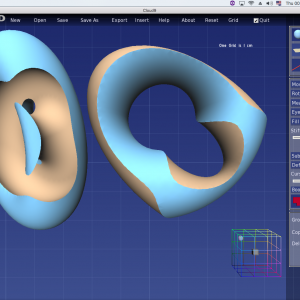 Upgrade to V3.1 for £140 (+VAT) if you already have Anarkik3D Design V2. This is well worth your while as we have made many improvements to the programme. and produce quality 3D models like this design by Ursula Guttmann for a 3D printed ring